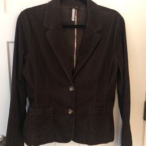 Old Navy 2 Button Brown Corduroy Jacket